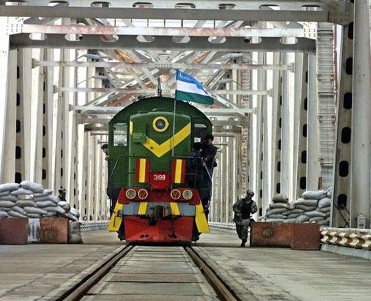Design, construction, installation and commissioning of new railway line Khairaton - Mazar-I-Sharif